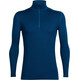 """Icebreaker M's Tech Top LS Half Zip Largo"""